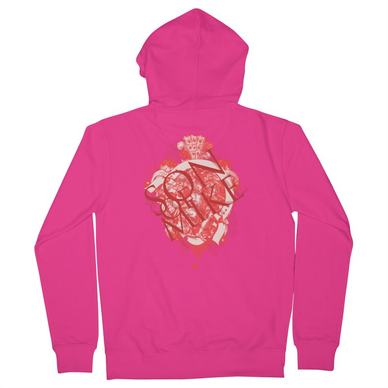 """Son of Mike """"Red Angel"""" Men's French Terry Zip-Up Hoody by Turkeylegsray's Artist Shop"""