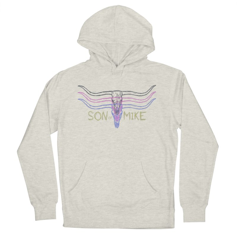 """Son of Mike """"Longhorn"""" Women's French Terry Pullover Hoody by Turkeylegsray's Artist Shop"""