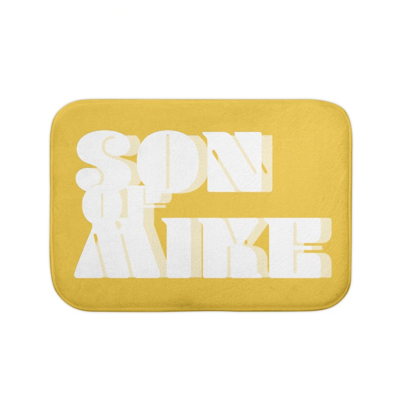 "Son of Mike ""Vintage"" Home Bath Mat by Turkeylegsray's Artist Shop"