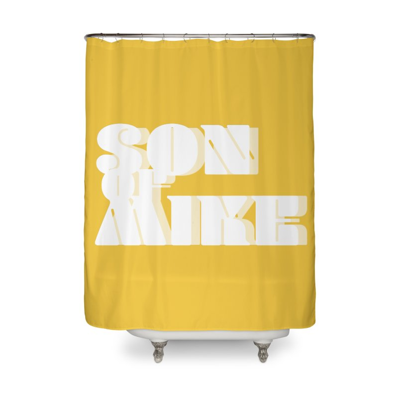 """Son of Mike """"Vintage"""" Home Shower Curtain by Turkeylegsray's Artist Shop"""