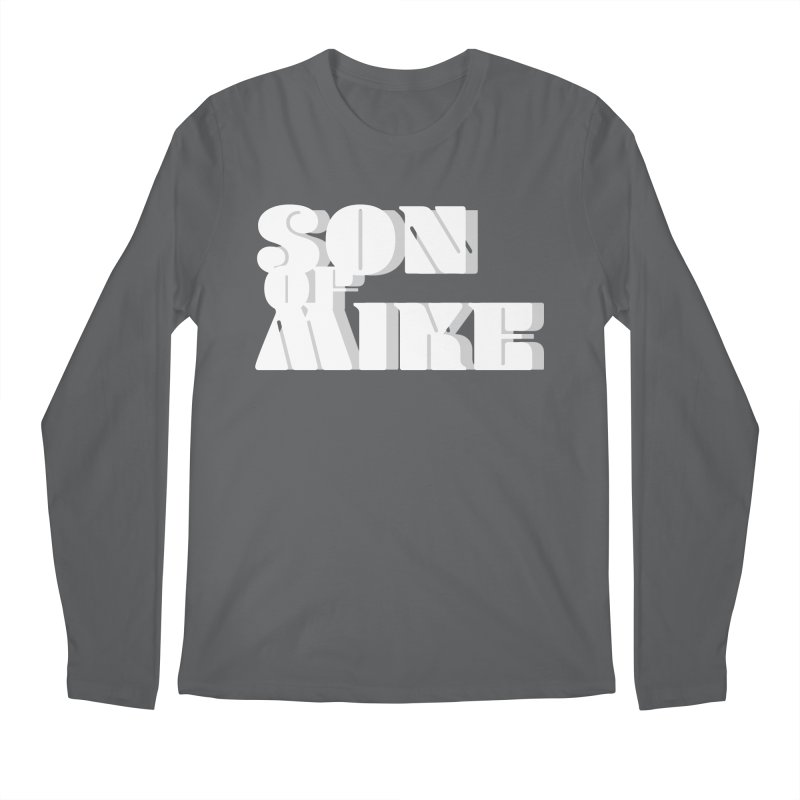"Son of Mike ""Vintage"" Men's Longsleeve T-Shirt by Turkeylegsray's Artist Shop"