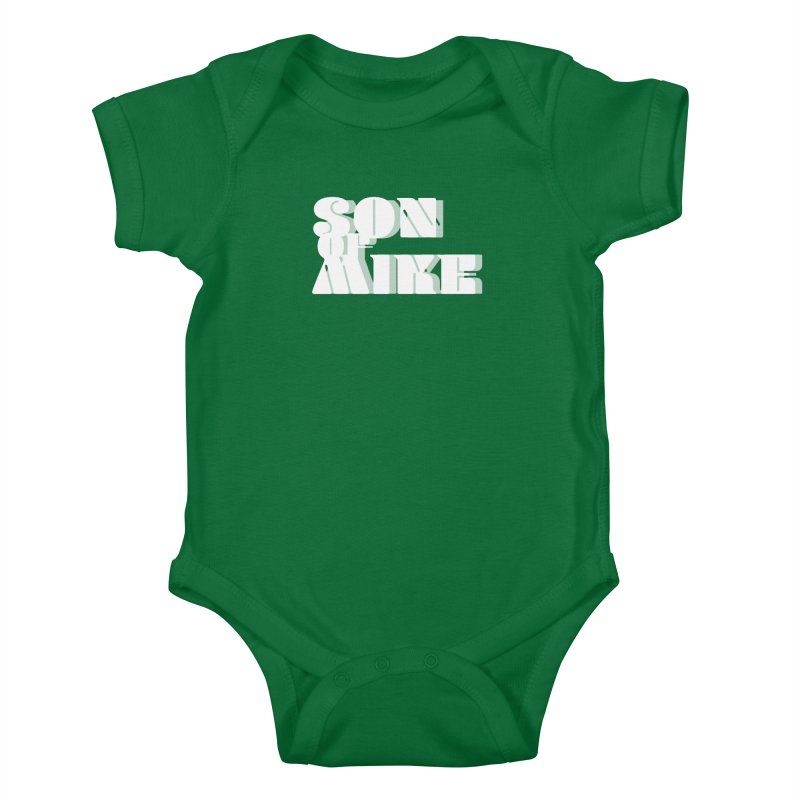"Son of Mike ""Vintage"" Kids Baby Bodysuit by Turkeylegsray's Artist Shop"