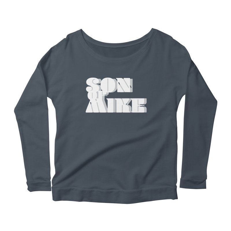 "Son of Mike ""Vintage"" Women's Scoop Neck Longsleeve T-Shirt by Turkeylegsray's Artist Shop"