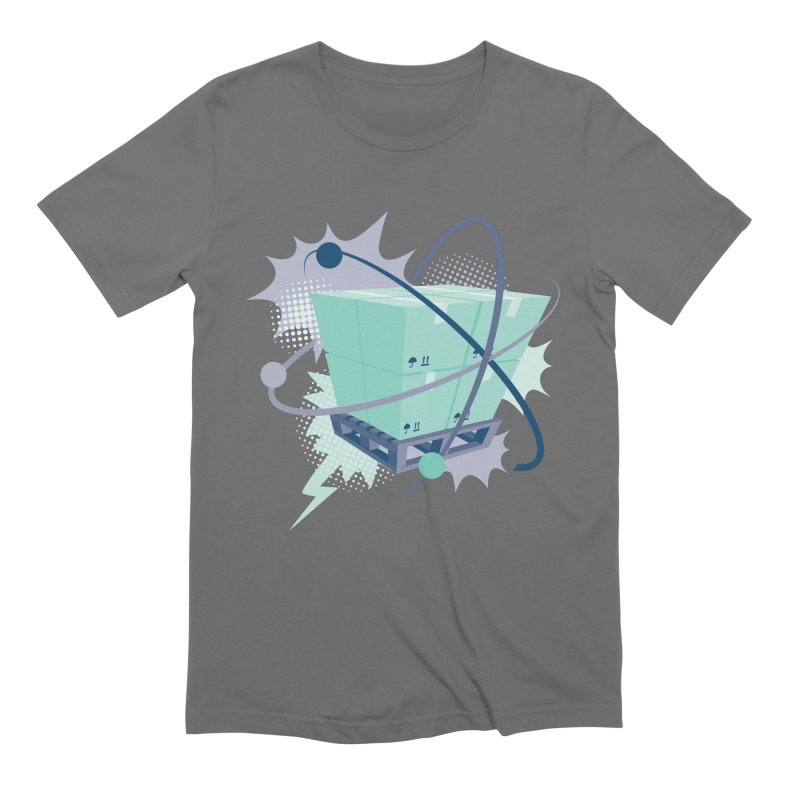 Atomic Crate Men's T-Shirt by Turkeylegsray's Artist Shop