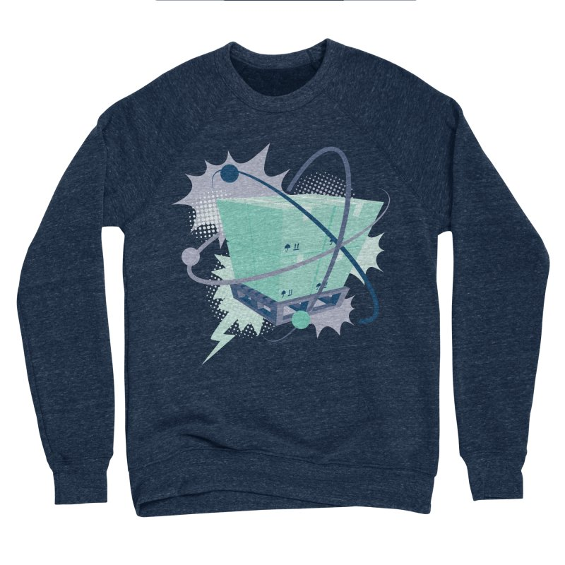 Atomic Crate Men's Sponge Fleece Sweatshirt by Turkeylegsray's Artist Shop