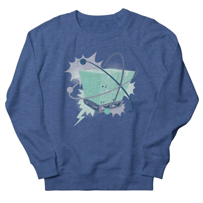 Atomic Crate Men's Sweatshirt by Turkeylegsray's Artist Shop