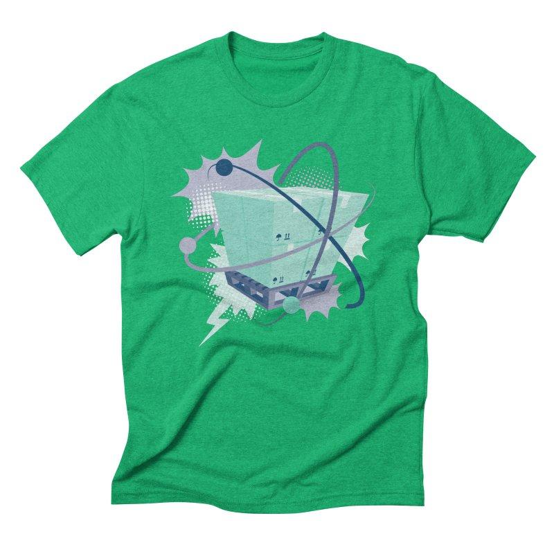 Atomic Crate Men's Triblend T-Shirt by Turkeylegsray's Artist Shop