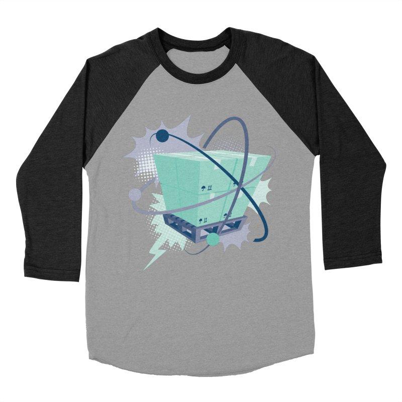 Atomic Crate Women's Baseball Triblend Longsleeve T-Shirt by Turkeylegsray's Artist Shop