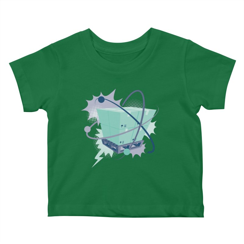 Atomic Crate Kids Baby T-Shirt by Turkeylegsray's Artist Shop