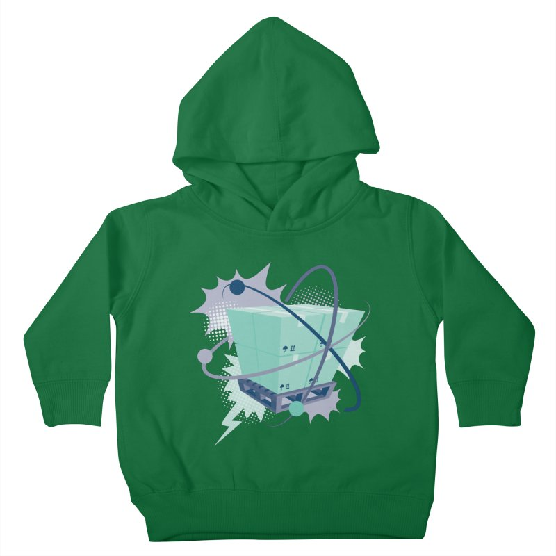 Atomic Crate Kids Toddler Pullover Hoody by Turkeylegsray's Artist Shop