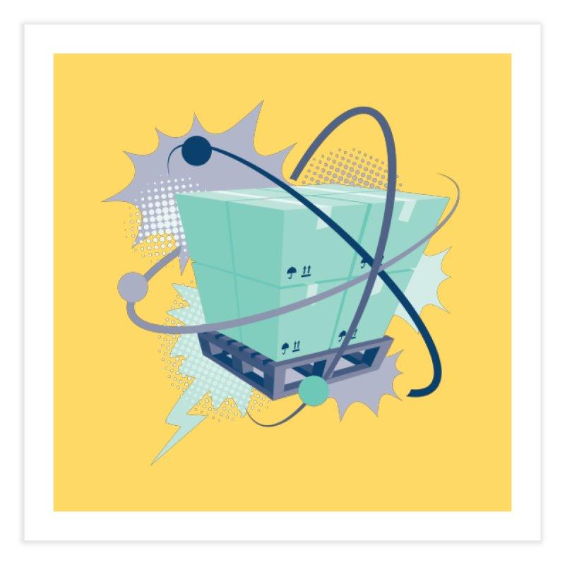 Atomic Crate Home Fine Art Print by Turkeylegsray's Artist Shop