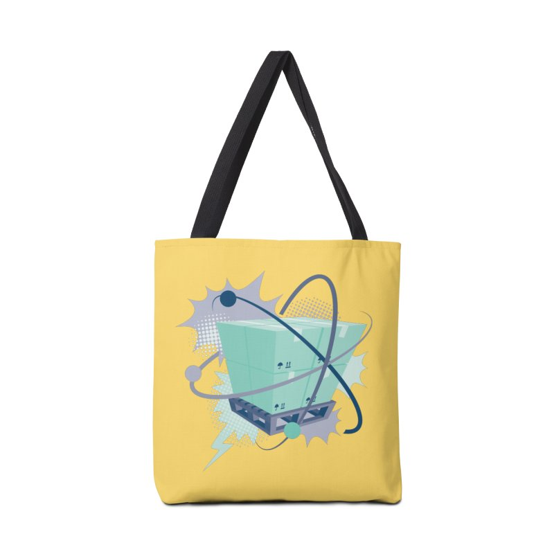 Atomic Crate Accessories Tote Bag Bag by Turkeylegsray's Artist Shop