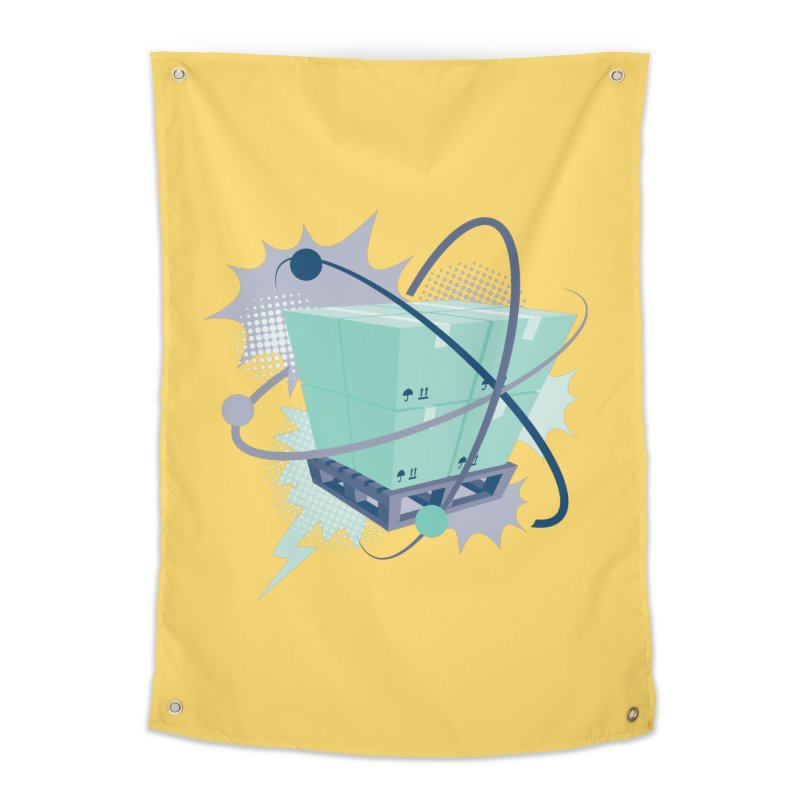 Atomic Crate Home Tapestry by Turkeylegsray's Artist Shop