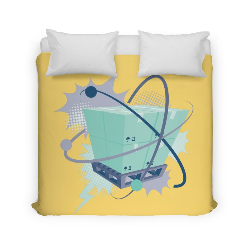 Atomic Crate Home Duvet by Turkeylegsray's Artist Shop