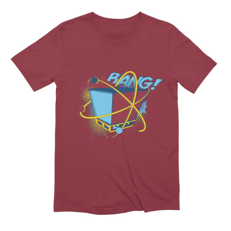 Atomic Crate (BANG) Men's Extra Soft T-Shirt by Turkeylegsray's Artist Shop