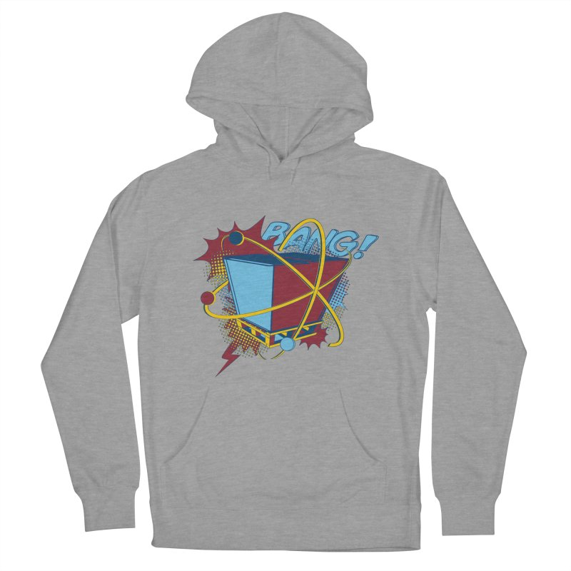 Atomic Crate (BANG) Men's French Terry Pullover Hoody by Turkeylegsray's Artist Shop