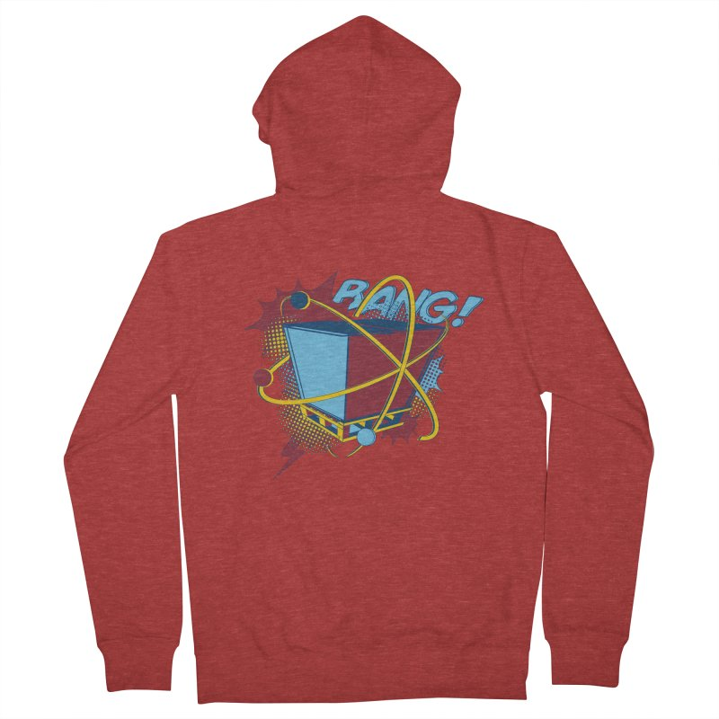 Atomic Crate (BANG) Women's French Terry Zip-Up Hoody by Turkeylegsray's Artist Shop