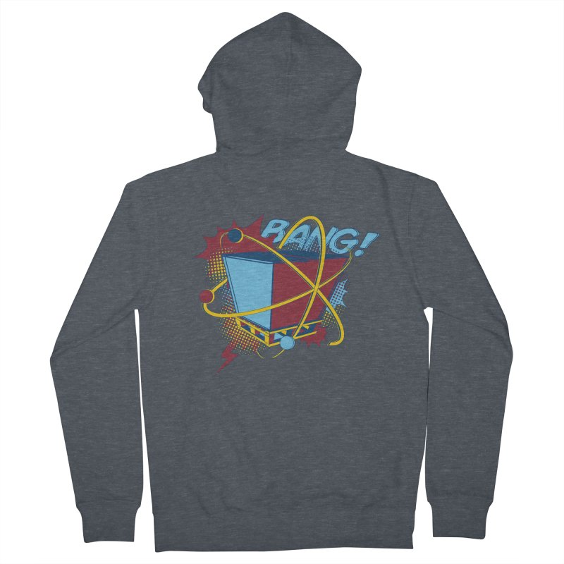 Atomic Crate (BANG) Men's French Terry Zip-Up Hoody by Turkeylegsray's Artist Shop