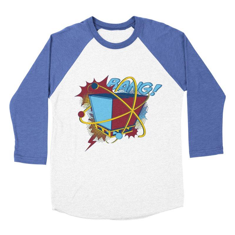 Atomic Crate (BANG) Women's Baseball Triblend Longsleeve T-Shirt by Turkeylegsray's Artist Shop
