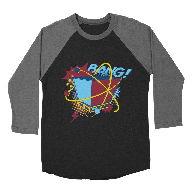 Atomic Crate (BANG) Men's Baseball Triblend Longsleeve T-Shirt by Turkeylegsray's Artist Shop