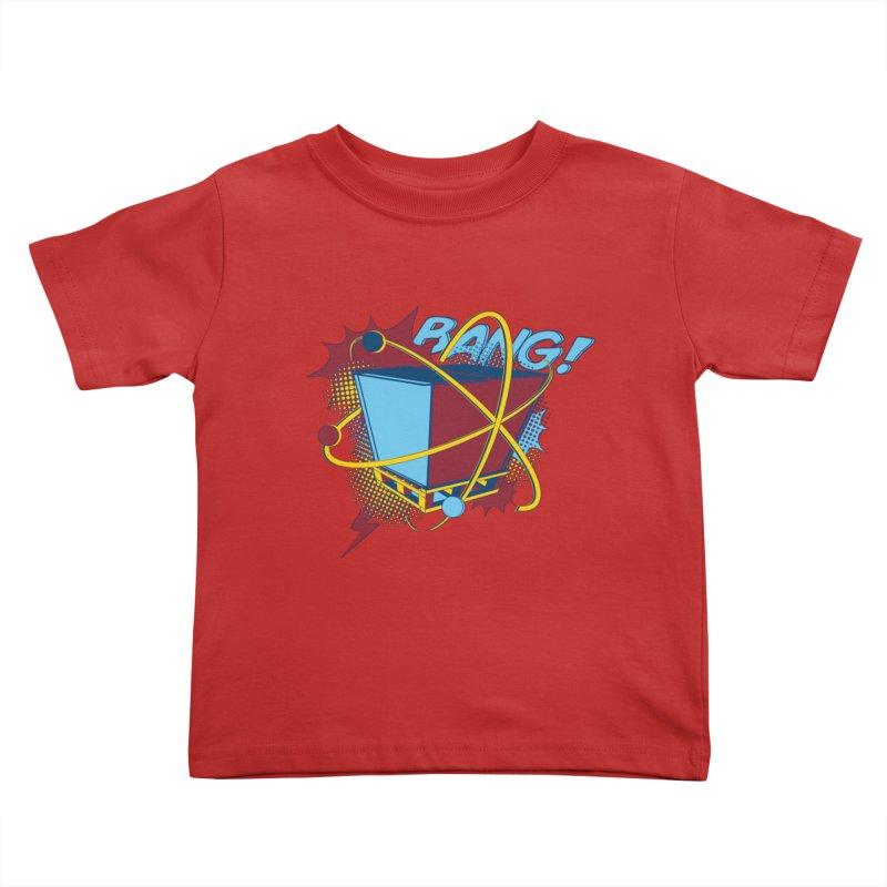 Atomic Crate (BANG) Kids Toddler T-Shirt by Turkeylegsray's Artist Shop