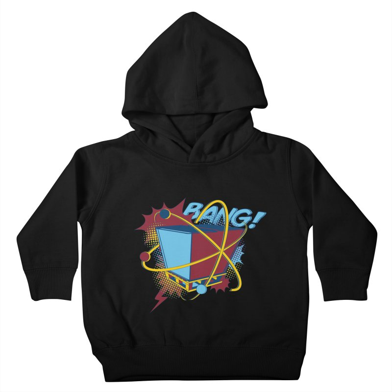 Atomic Crate (BANG) Kids Toddler Pullover Hoody by Turkeylegsray's Artist Shop