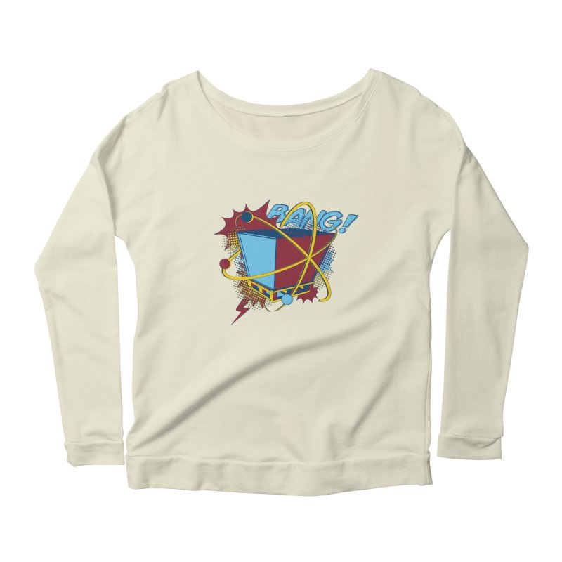 Atomic Crate (BANG) Women's Scoop Neck Longsleeve T-Shirt by Turkeylegsray's Artist Shop