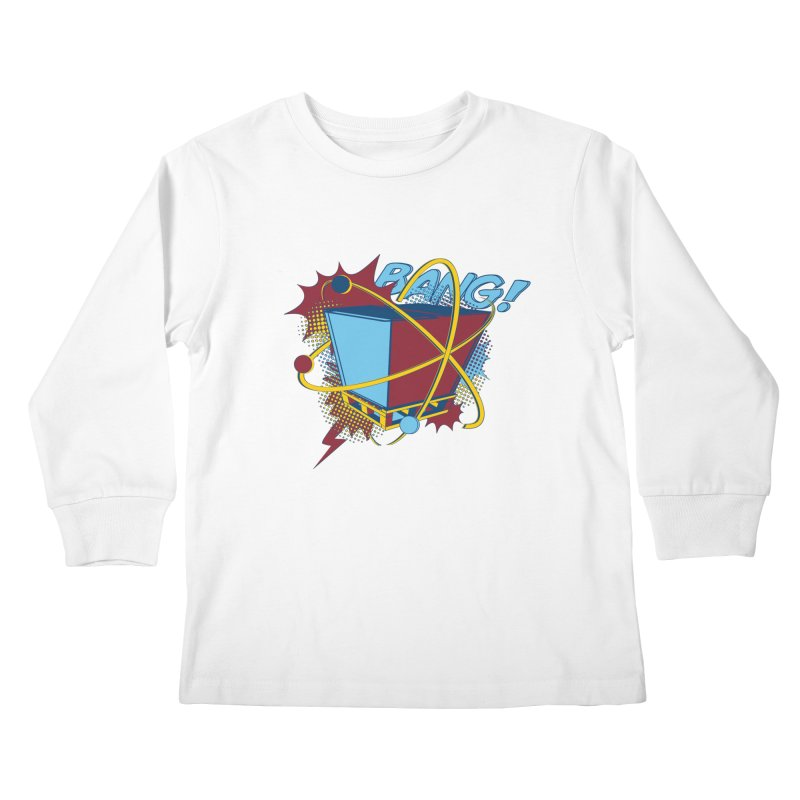 Atomic Crate (BANG) Kids Longsleeve T-Shirt by Turkeylegsray's Artist Shop