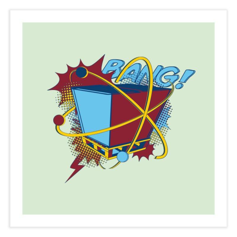 Atomic Crate (BANG) Home Fine Art Print by Turkeylegsray's Artist Shop