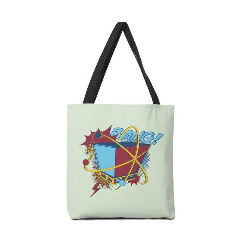 Atomic Crate (BANG) Accessories Tote Bag Bag by Turkeylegsray's Artist Shop