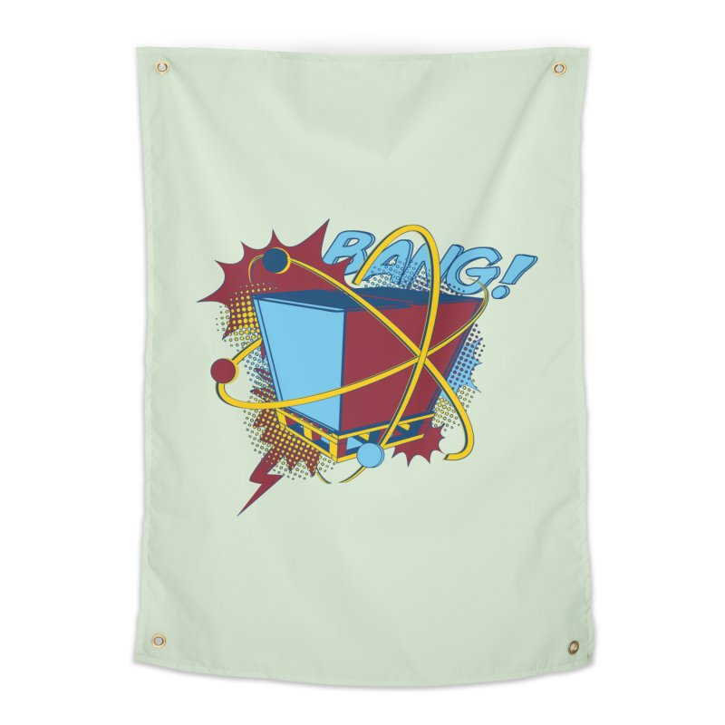 Atomic Crate (BANG) Home Tapestry by Turkeylegsray's Artist Shop