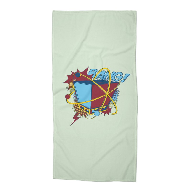 Atomic Crate (BANG) Accessories Beach Towel by Turkeylegsray's Artist Shop