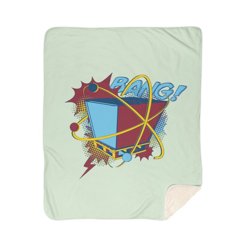 Atomic Crate (BANG) Home Sherpa Blanket Blanket by Turkeylegsray's Artist Shop