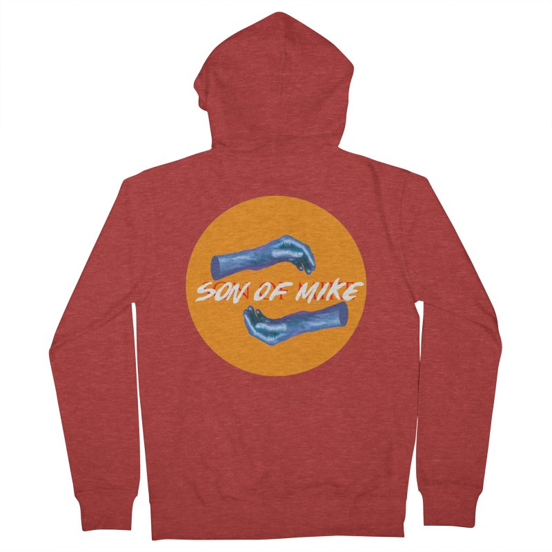 """Son of Mike """"Hands"""" Women's French Terry Zip-Up Hoody by Turkeylegsray's Artist Shop"""