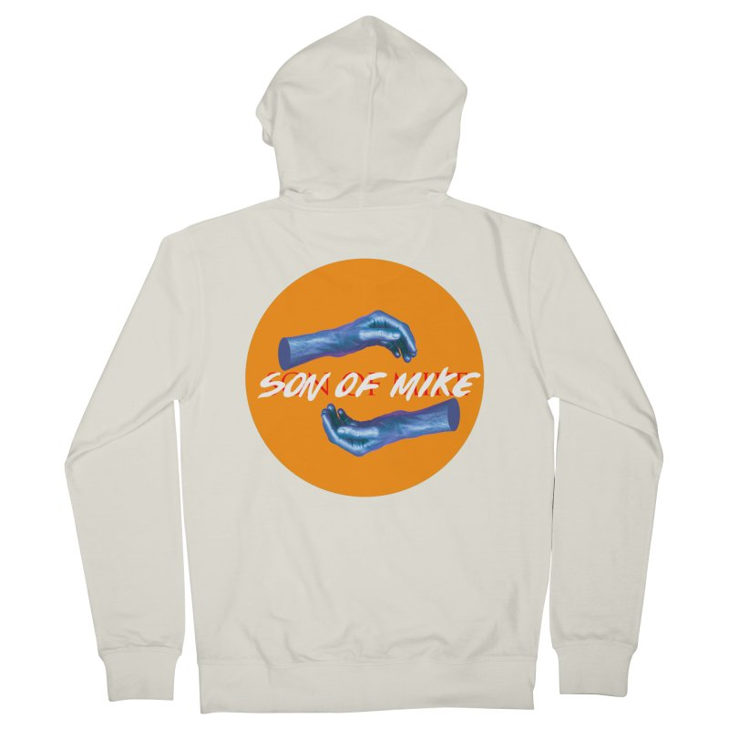 """Son of Mike """"Hands"""" Men's French Terry Zip-Up Hoody by Turkeylegsray's Artist Shop"""