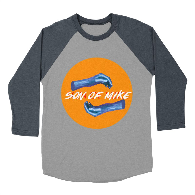 "Son of Mike ""Hands"" Women's Baseball Triblend Longsleeve T-Shirt by Turkeylegsray's Artist Shop"