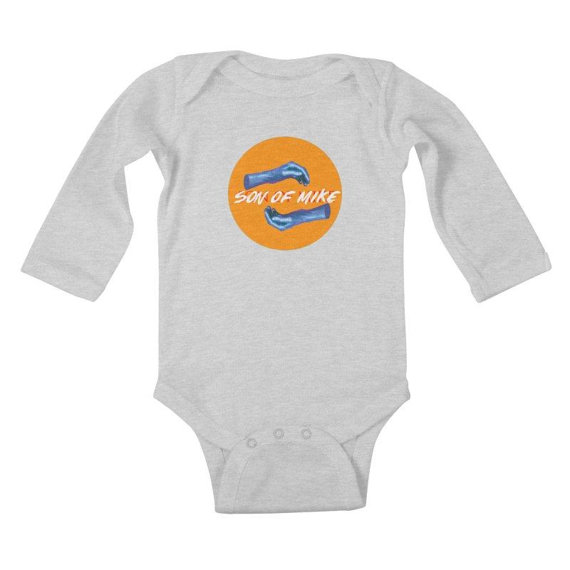 "Son of Mike ""Hands"" Kids Baby Longsleeve Bodysuit by Turkeylegsray's Artist Shop"
