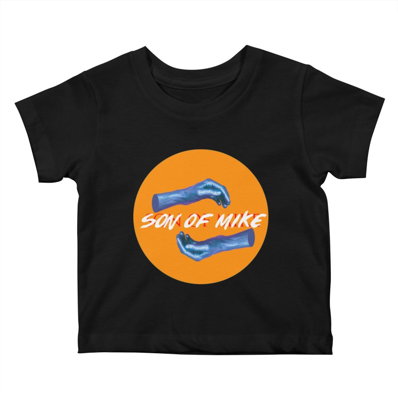 """Son of Mike """"Hands"""" Kids Baby T-Shirt by Turkeylegsray's Artist Shop"""
