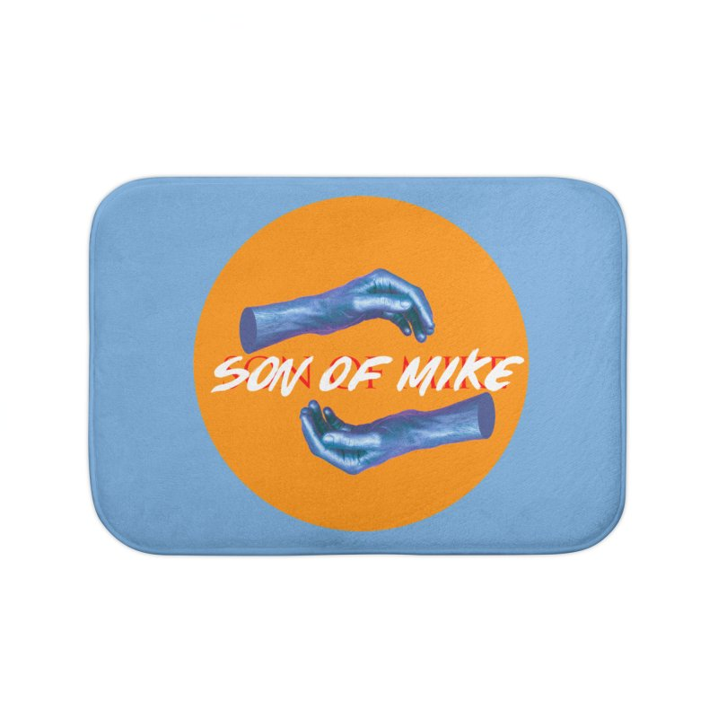 "Son of Mike ""Hands"" Home Bath Mat by Turkeylegsray's Artist Shop"