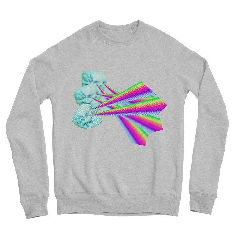Rainbow Skull Men's Sponge Fleece Sweatshirt by Turkeylegsray's Artist Shop