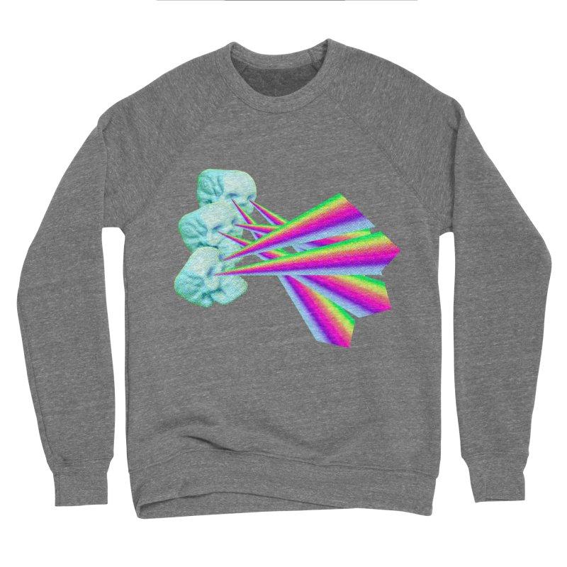 Rainbow Skull Women's Sponge Fleece Sweatshirt by Turkeylegsray's Artist Shop
