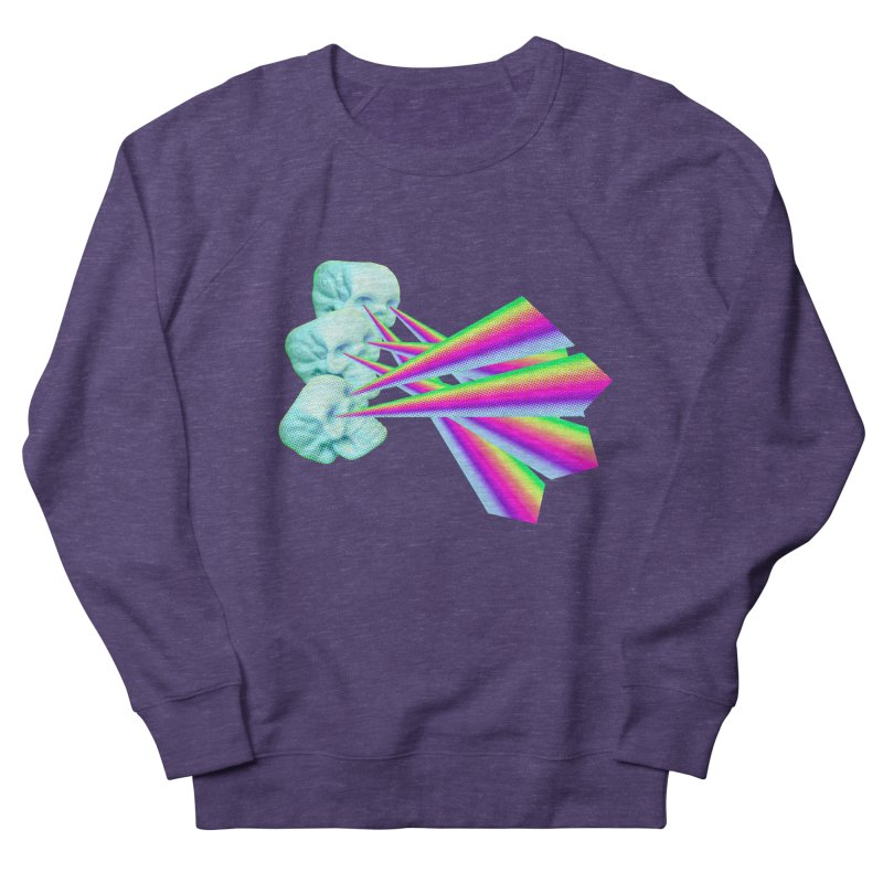 Rainbow Skull Women's French Terry Sweatshirt by Turkeylegsray's Artist Shop