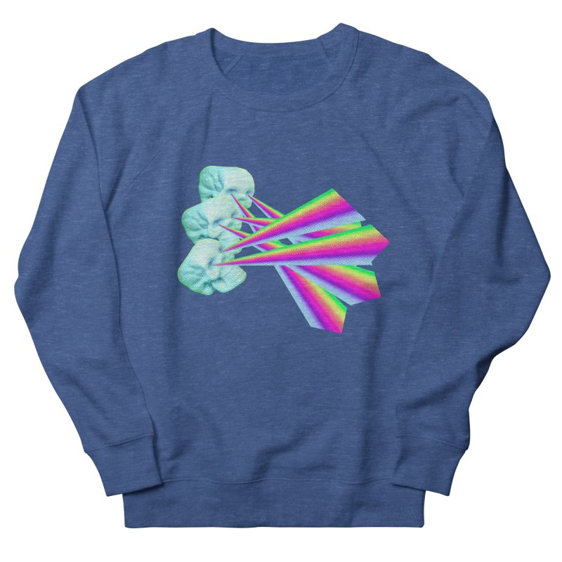 Rainbow Skull Men's Sweatshirt by Turkeylegsray's Artist Shop