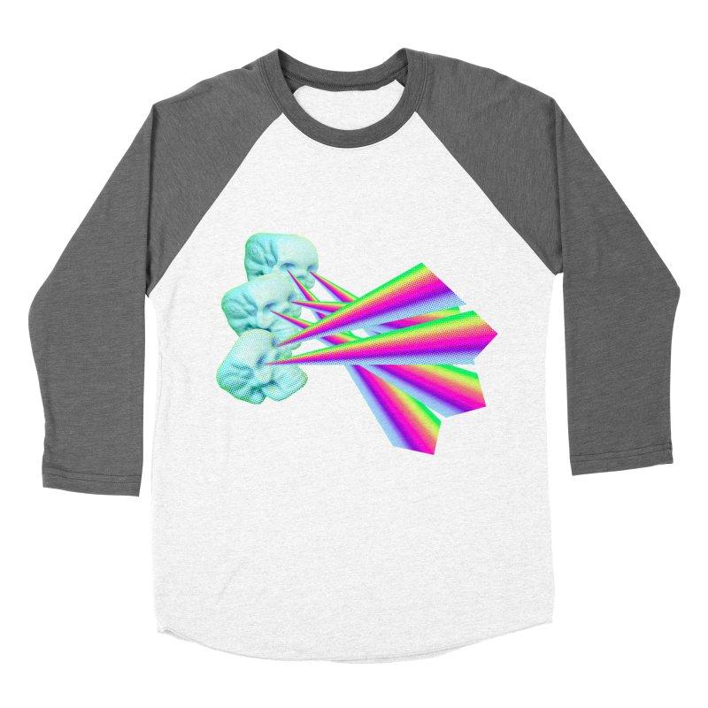 Rainbow Skull Women's Longsleeve T-Shirt by Turkeylegsray's Artist Shop