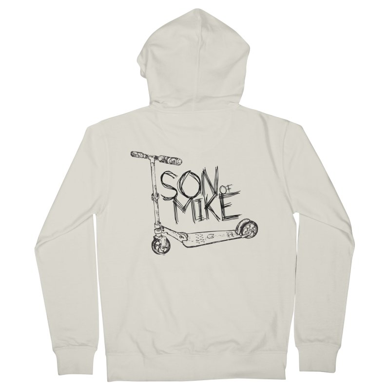 """Son of Mike """"Scooter"""" Women's French Terry Zip-Up Hoody by Turkeylegsray's Artist Shop"""