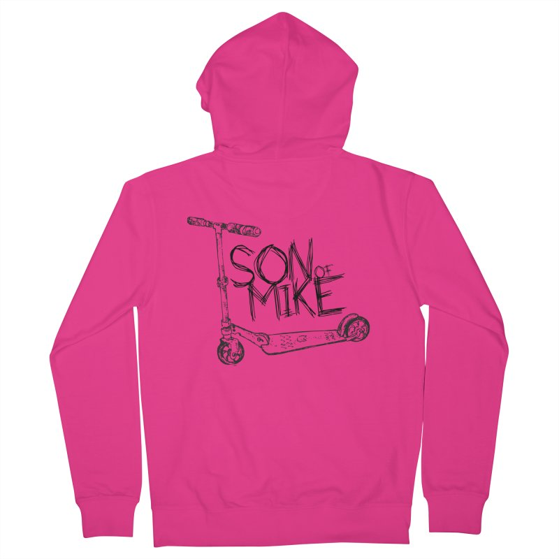 "Son of Mike ""Scooter"" Men's French Terry Zip-Up Hoody by Turkeylegsray's Artist Shop"