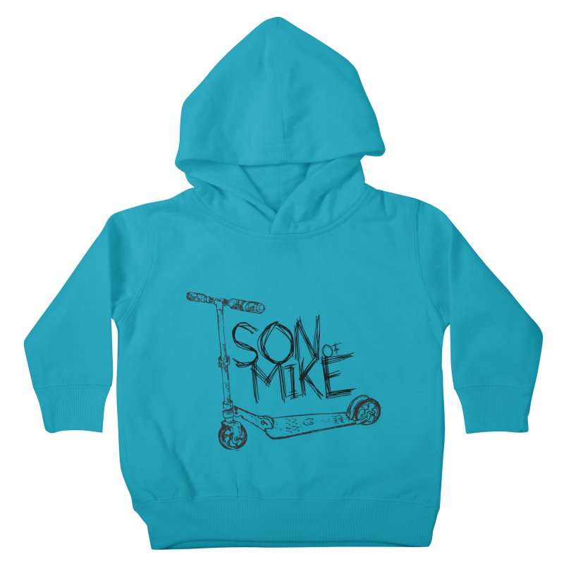 "Son of Mike ""Scooter"" Kids Toddler Pullover Hoody by Turkeylegsray's Artist Shop"