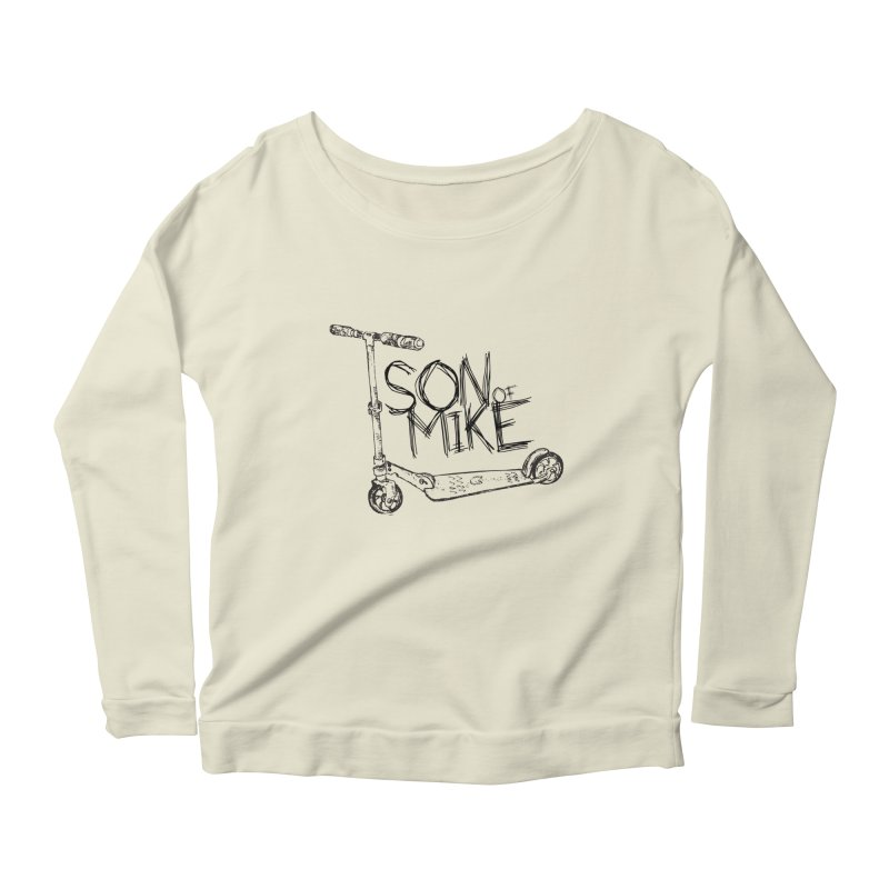 "Son of Mike ""Scooter"" Women's Scoop Neck Longsleeve T-Shirt by Turkeylegsray's Artist Shop"