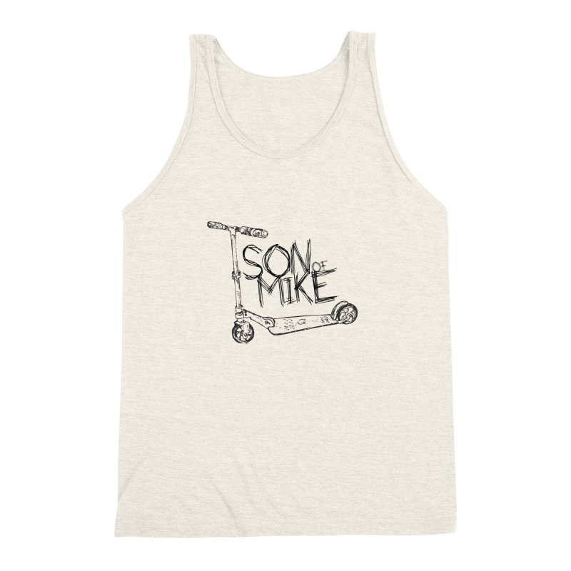 "Son of Mike ""Scooter"" Men's Triblend Tank by Turkeylegsray's Artist Shop"