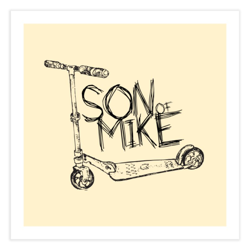 """Son of Mike """"Scooter"""" Home Fine Art Print by Turkeylegsray's Artist Shop"""